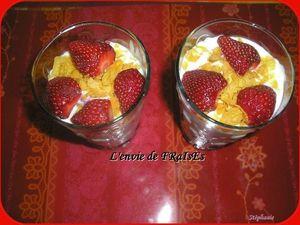 verrines fraises