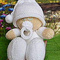 Easy knit baby - knitting by post