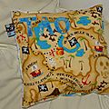 Coussin pirate #2 pour tao !