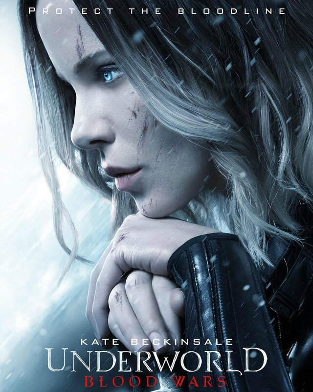 Underworld-Blood Wars_Kate Beckinsale poster
