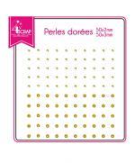 embellissement-scrapbooking-carterie-autocollant-perles-dorees