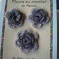 fleurs crochet 720