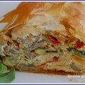Omelette arlequine en habit croustillant