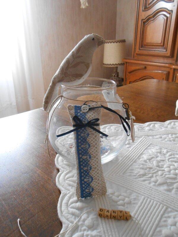 sachet lavande bicolore bleu 0