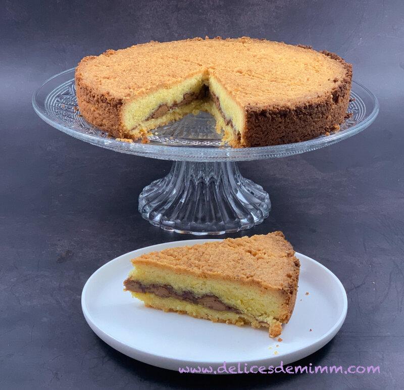 Le gâteau breton au praliné 2