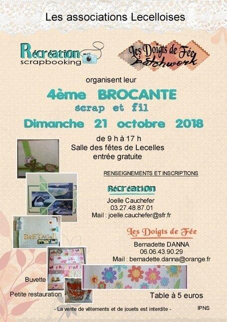 affiche brocante 2018 -A5 - M2