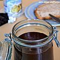 Pâte à tartiner au chocolat (avec ou sans noisettes)