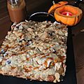 Gâteau aux pommes germaine de brasparts comme en crumble: crousti-croquant-fondant