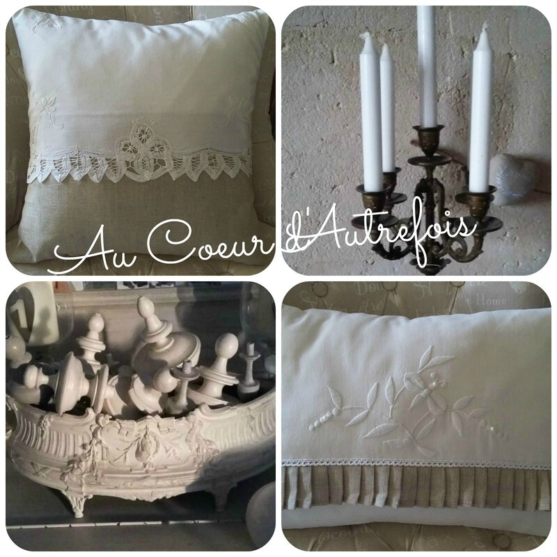 Coussins Shabby S