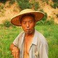 Fumeur de cigare de Chen Lu