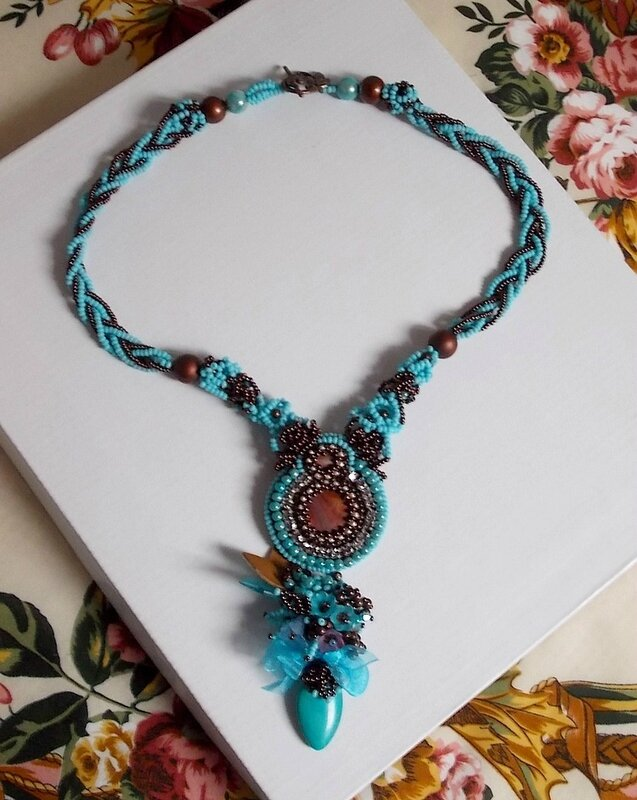 Collier Turquoise 4-1