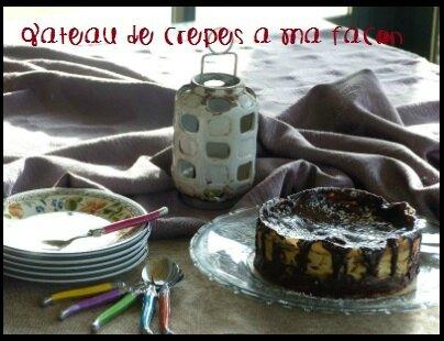 gâteau de crêpes 1
