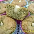 Muffin monday # 17 : le ramadan à l'honneur , muffins à la semoule et au sirop de miel