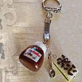 Porte-clef Nutella et Napolitain (N)