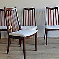 Set de 4 chaises gplan