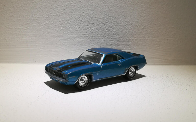 Chevrolet Camaro de 1969 (Johnny Lightning)