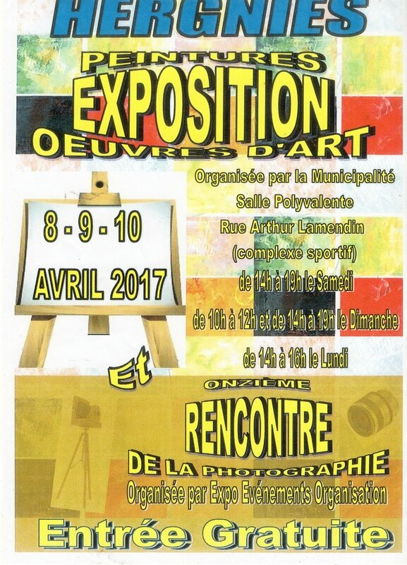 HERGNIES expo AFFICHE 261