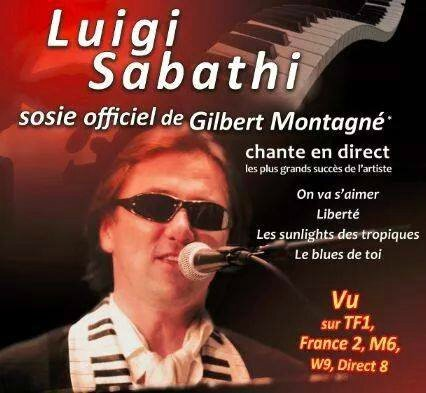 Sosie officiel Gilbert Montagné.