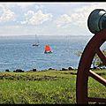 Helsingor : vue sur la mer depuis Elseneur