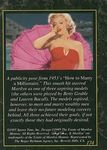 card_marilyn_sports_time_1995_num174b
