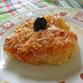 Délicieux gratin de chou-fleur à la sauce tomate et à la mortadelle halal