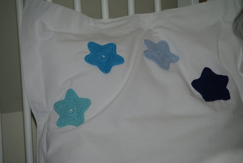 crocheter des étoiles