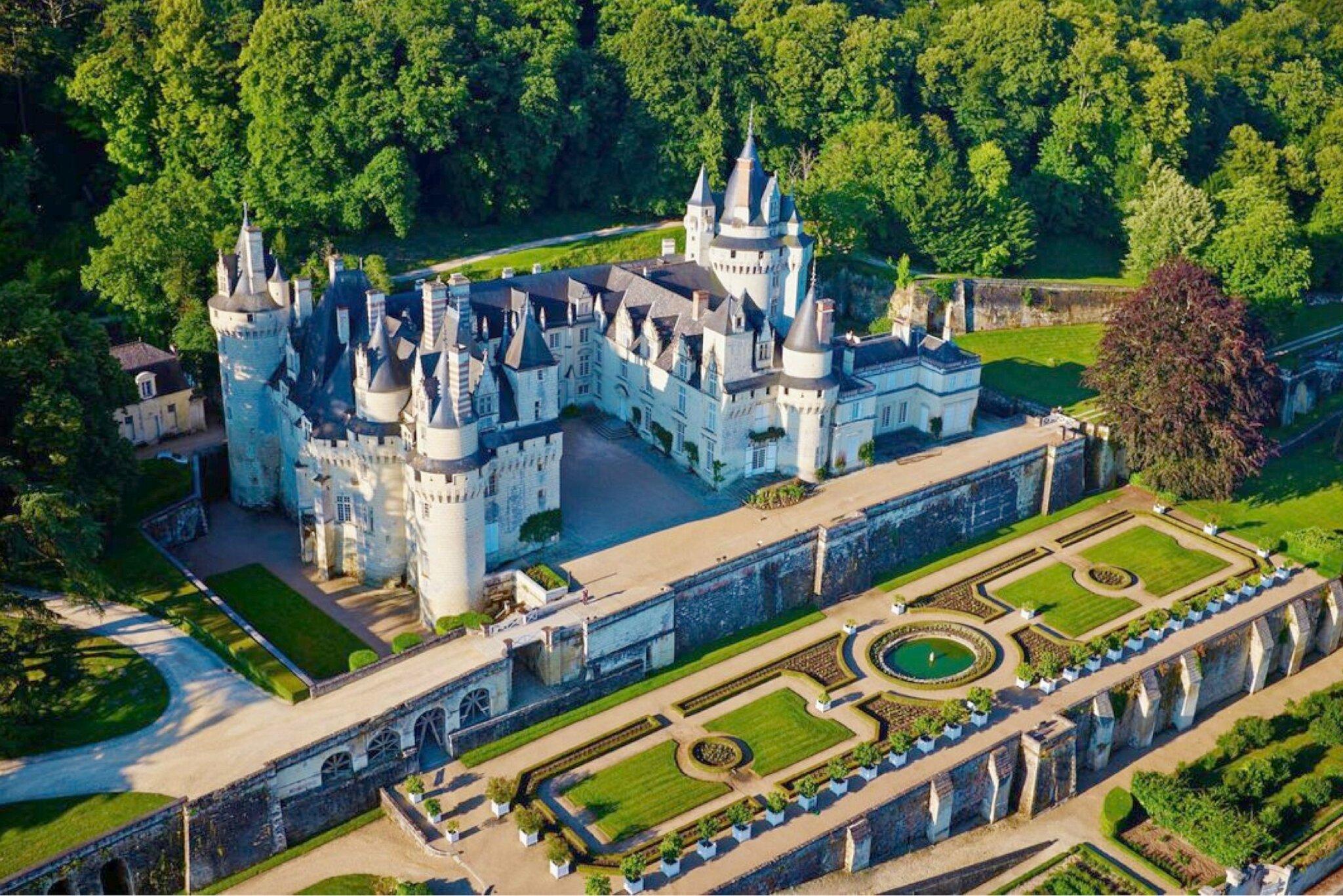 Ussé : le château de la Belle au Bois Dormant