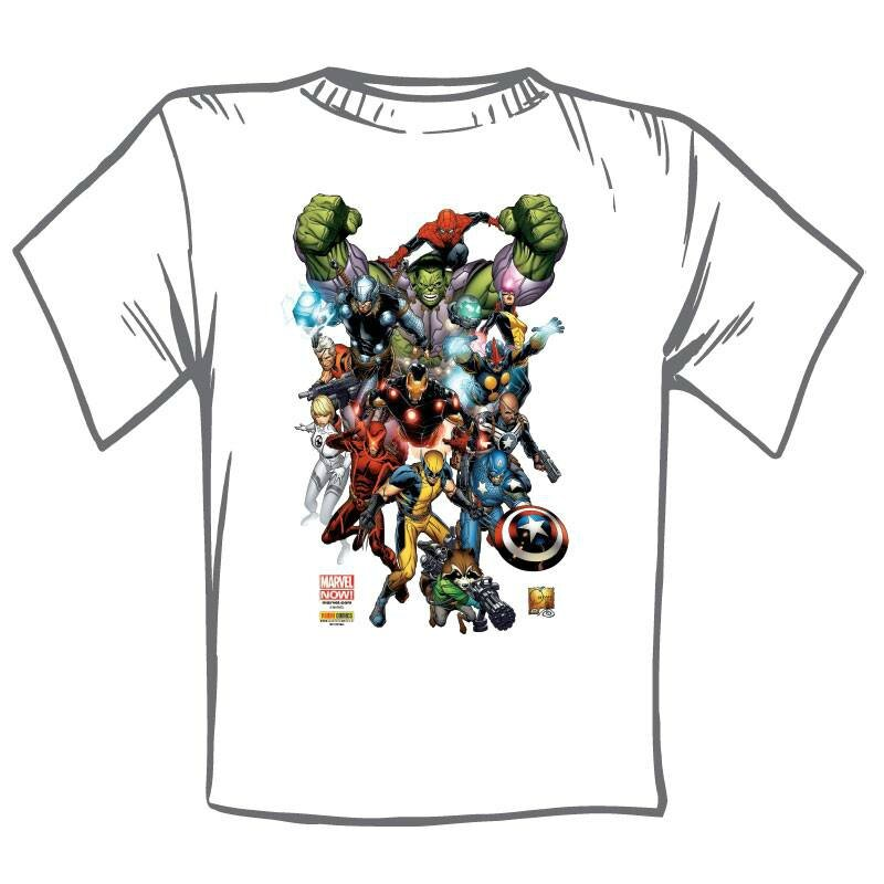 t-shirt marvel now
