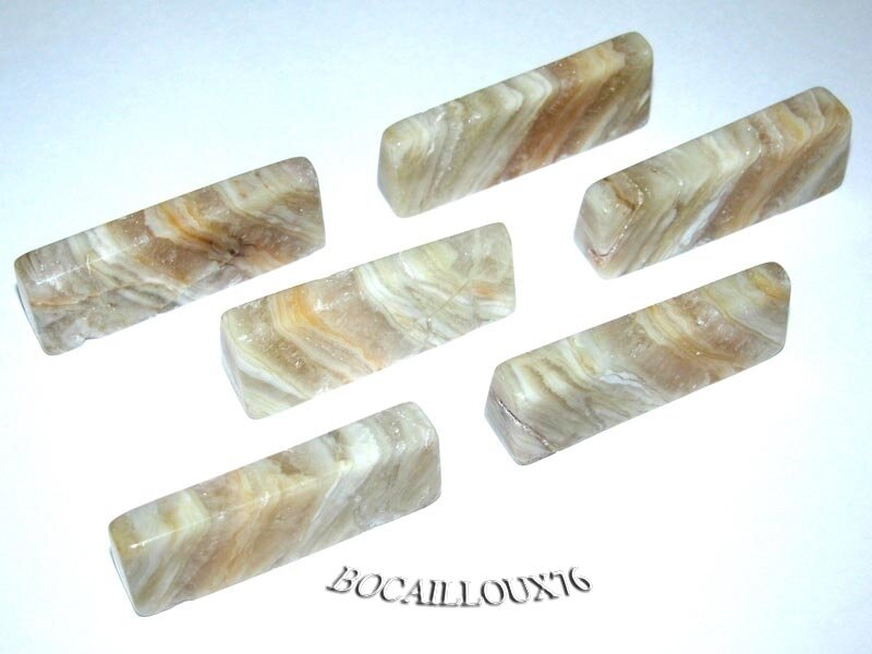 PORTE COUTEAU AGATE 13 - 41x16x11mm LOT X6 - ART DE LA TABLE