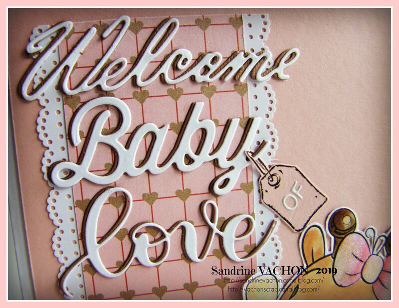 Carte WELCOME BABY OF LOVE (2)