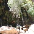 cascades du vergel, au fond du canyon
