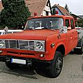 International harvester travelette flatbed (ex-firetruck), 1973