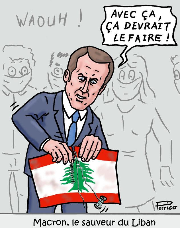 Macron au secours du Liban - 8 août 2020