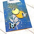 Page de art journal par paméla pimpampoom