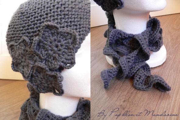 Bonnet et écharpe Inès