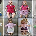Vêtements pour poupées