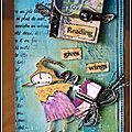 Two atcs for guest designer stampotique challenge !