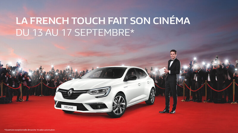 french touch affiche renault