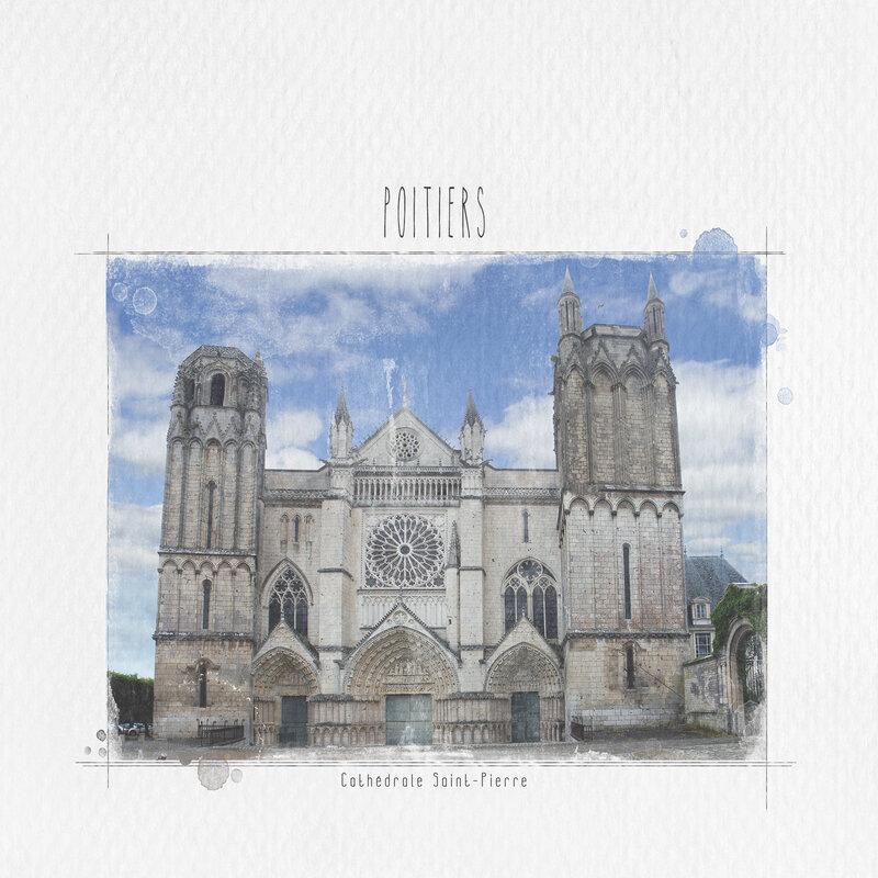 Poitiers - Cathédrale Saint-Pierre -JoanneBrisebois_SLCWW12A_Page10aaa