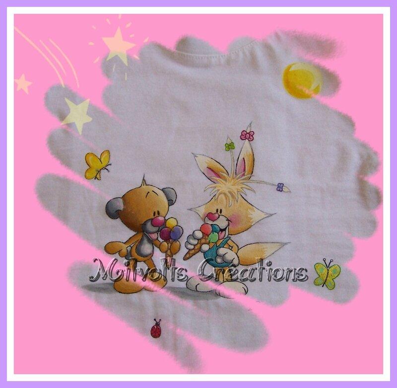 T-shirt personnalisé Pimboli & Minihops 2 filigrane copie