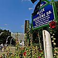 Espace vert parisien ; les Jardins de l'Atlantique.