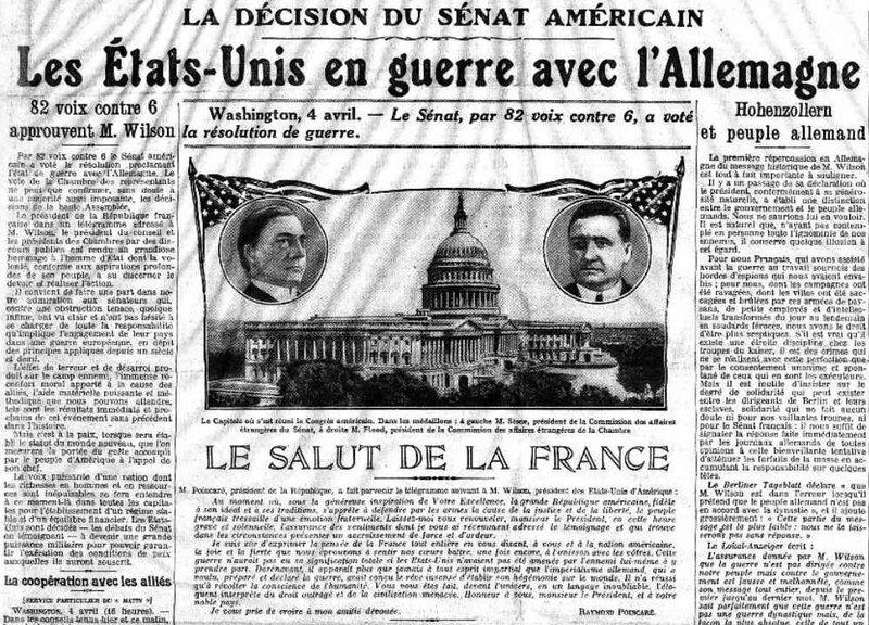 Le Matin 06 04 1917