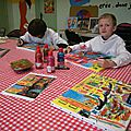 Tableaux d'enfants d'après zanella