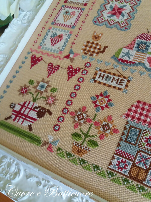 quilting in quilt 4
