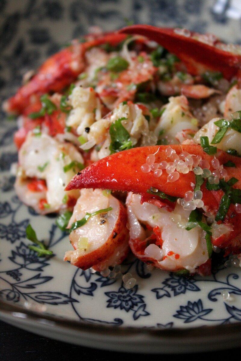 salade homard citron caviar 1