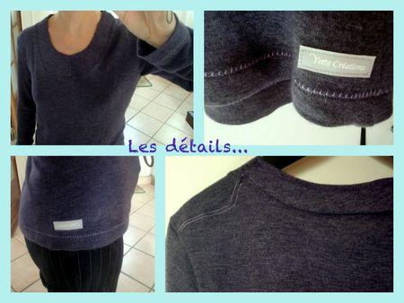T-shirt Ottobre-Nora-détails
