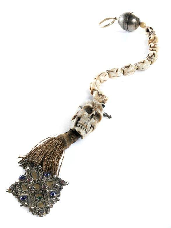 Memento Mori Rosary, 18th Century