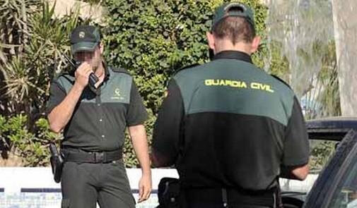 Guardia civil espagnole