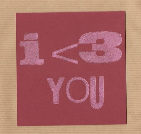 Carte I love you1