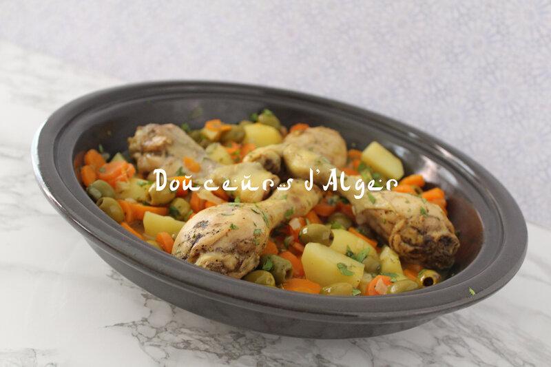 tajine olives carottes